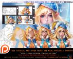 Winter Melon Elf tutorial pack.promo. by sakimichan