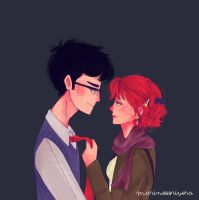 Lily and James by angelchan27