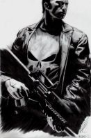 The Punisher. by Skissored