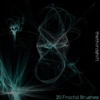 Gimp Fractal Brushes by brushesfreedow