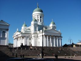 The Helsinki Cathedral by Nirwrath