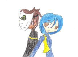 Wybie and Coraline by WarriorNun