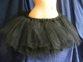 plain tutu black by BacktoEarthCreations