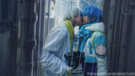 DMMD: Ah...I've gone and kissed you. by thatasianperson