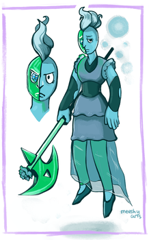 Kornerupine Gemsona by Littletde