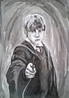 Ron Ron Ron Weasley by Bobalooshrimp