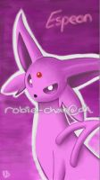 Espeon  by Robie-Chan