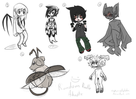 Random Adoptables One +Open+ by Stephys-Adoptables
