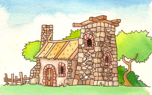 Watercolour forge by SaintBonkers