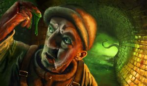 Trouble in the Sewer by Slippery-Jack