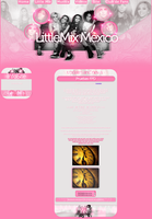 Layout FPD -Little Mix Mexico by FabulousPinkDesignsW