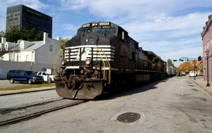 NS 191 through Downtown Augusta by JamesT4