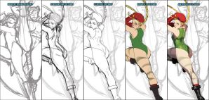 Walking with Cammy by theCHAMBA