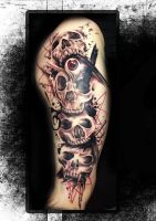 Ministyle +++Skullparade+++ by Miss Mini by MMTattooPegnitz
