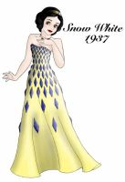 Snow White designer gown by ruletheworldwithsong