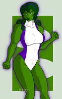 DSC She Hulk by TULIO19mx