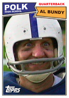 Al Bundy's Football Card by motorhead4646