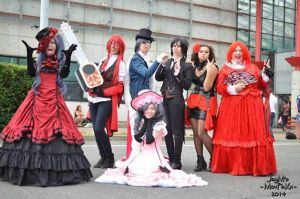 Black Butler group Troll face by rinokumur