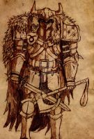 Malphis Parchment Sketch by Allocer2009