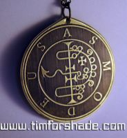 King Asmoday - Lesser Key of Solomon Seal kabbalah by TimforShade