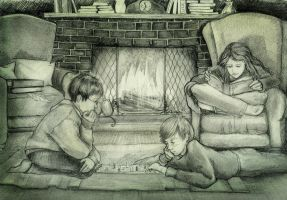 Harry, Ron, and Hermione by Harry-Potter-FanClub