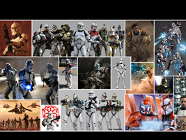 Clones Wallpaper by Thimburd
