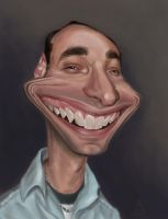 Lecturer Caricature by RNButler