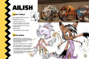 Sonic Art Collection (Pages 48-49) AILISH 2 by darkspeeds