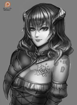 Miriam : Bloodstained: Ritual of the Night by BADCOMPZERO