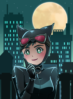 [Commission] Catwoman by mgcoco
