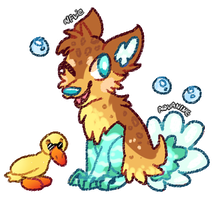 Duck Aquanine CLOSED by alfvie