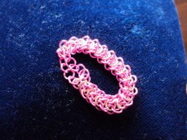 Fey Maille: Elf Weave Ring by altearithe