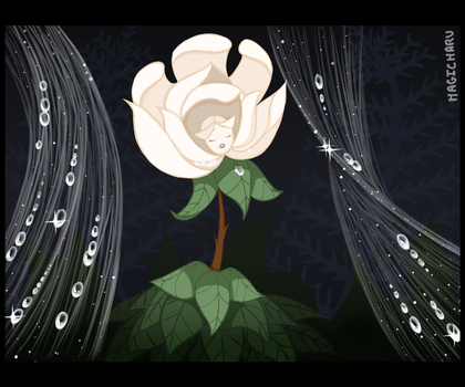 The White Rose by Magicharu