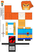 Paper Pezzy- Lion-O 'Classic' by CyberDrone