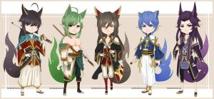 [OPEN] Auction - Chibi Adopts 04 (1/5) by True-Rune