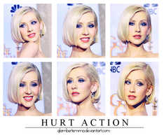 Hurt Action. by glambertemma