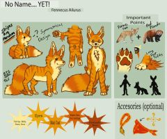 Reference Sheet by kitsune-gamer