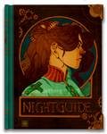 Nightguide: Bookcover portrait by Jontamar