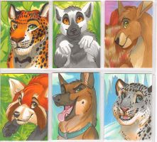 Premade Furry Con Badges 3 by Ifus