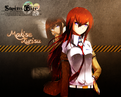 Steins Gate: Makise Kurisu - WALLPAPER by Silas-Tsunayoshi