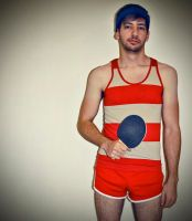 Ping Pong Champion by digital-uncool