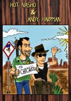 Hot Nasho and Andy Harpman (to Chicago) by xAndyLG
