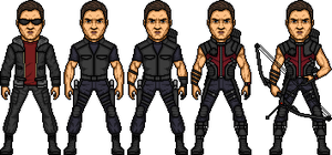 Hawkeye by MicroManED