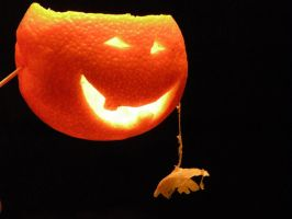 Halloween Orange Carving by Alquemie