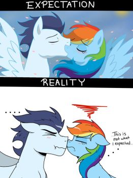 First Kiss by PimpArtist101
