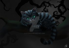 Cheshire cat by xYuukiix