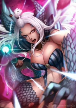 Fairy Tail Mirajane Halphas by magion02