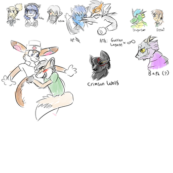 REQUEST STREAM 01 RESULTS by zenywolf