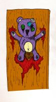 Nailed Bear by ChaoticChild555