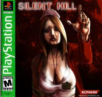 Silent Hill - PSOne Alt. Cover by transfuse